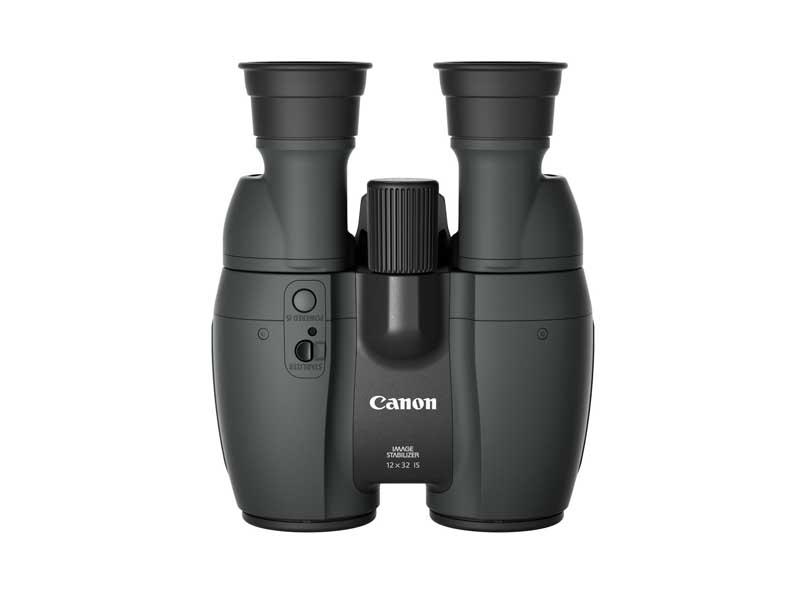 Canon Fernglas 12x32 IS, Prismentyp: Porro, Dämmerungszahl: 0, Vergrösserung: 12 ×, Naheinstellgrenze: 2.7 m, Bildstabilisator, Gewicht: 870 g, Sehfeld auf 1000 m: 87 m