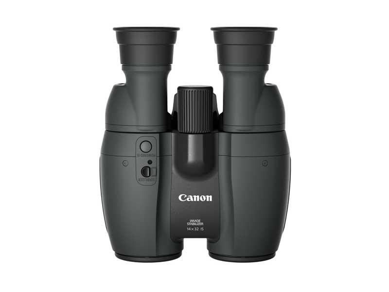 Canon Fernglas 14x32 IS, Prismentyp: Porro, Dämmerungszahl: 0, Vergrösserung: 14 ×, Naheinstellgrenze: 2.3 m, Bildstabilisator, Gewicht: 775 g, Sehfeld auf 1000 m: 75 m