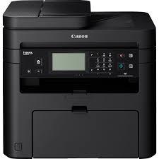 Canon i-SENSYS MF237w, Schwarzweiss Laser Drucker, A4, 23 Seiten pro Minute, Drucken, Scannen, Kopieren, Fax, Duplex und WLAN