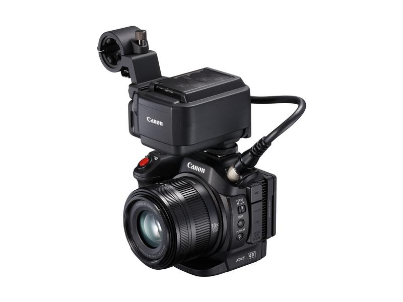 Canon Camcorder XC15 4K Widerstandsfähigkeit: Keine, Bildschirmdiagonale: 3 \