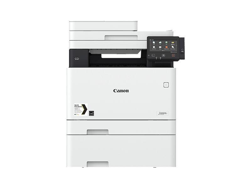 Canon MF734CDW, Farblaser Drucker, A4, 27 Seiten pro Minute, Drucken, Scannen, Kopieren, Fax, Duplex und WLAN