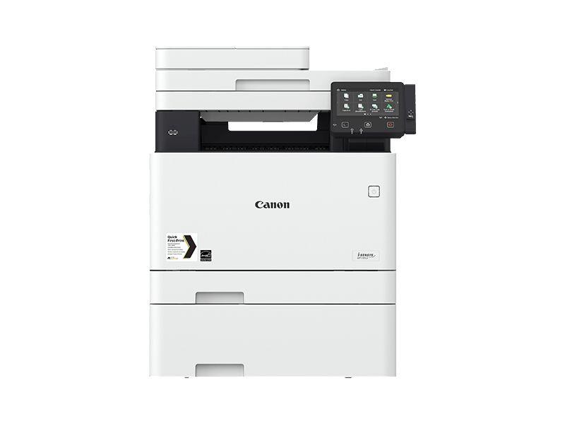 Canon MF735CX, Farblaser Drucker, A4, 27 Seiten pro Minute, Drucken, Scannen, Kopieren, Fax, Duplex