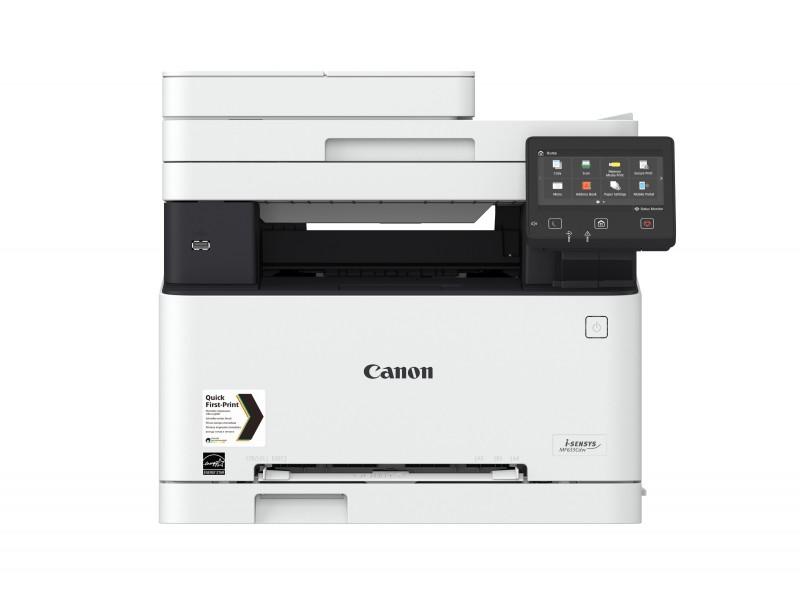 Canon i-SENSYS MF633Cdw, Farblaser Drucker, A4, 18 Seiten pro Minute, Drucken, Scannen, Kopieren, Duplex und WLAN