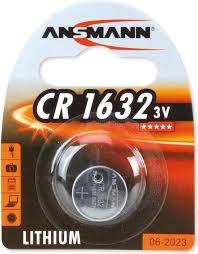 ANSMANN Lithium Knopfzelle CR1632,3 Volt,1er Blister