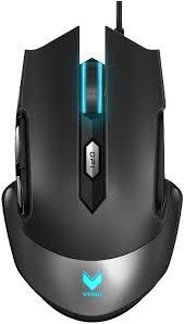 Rapoo Maus V310 Maus-Typ: Gaming, Bedienungsseite: Rechtshänder, Maus Features: Beleuchtung, Daumentaste, Geschwindigkeitsauswahltaste, Integrierter Speicher, Beleuchtetes Scrollrad, Umschaltbare DPI-Auflösung, Farbe: Schwarz, Verbindung Maus/Tastatu
