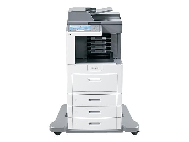 Lexmark X658dtme, Schwarzweiss Laser Drucker, A4, 53 Seiten pro Minute, Drucken, Scannen, Kopieren, Fax, Duplex