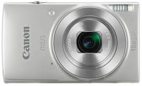 Canon IXUS 190, Digitalkamera-Kompaktkamera, 2.7 Zoll LCD, 20 MP, 5152 x 3864 Pixel, 10 x optischer Zoom, 4 x Digitales Zoom, SD-SDHC-SDXC, Silber