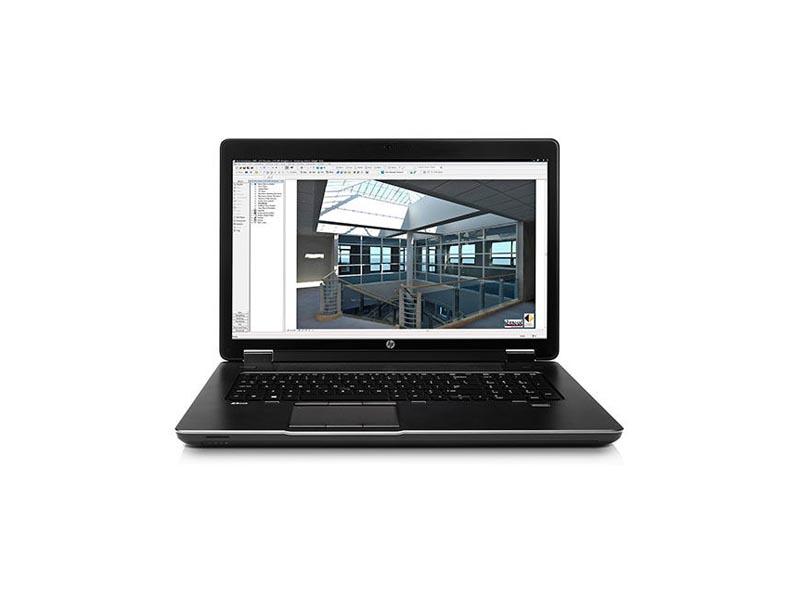 HP Notebook Zbook 17 G4, Intel Core i7-7820HQ, 16GB DDR4 RAM, 256GB SSD, 17.3 Zoll, 1920 x 1080 Pixel, Windows 10 Pro