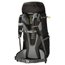 Sac à dos Highland Trail XT 60 + 5 l, schwarz Volumen: 60 l, Gewicht: 2220 g, Rucksack Typ: Trekking, Farbe: Anthrazit, Zielgruppe: Herren, Reflektoren