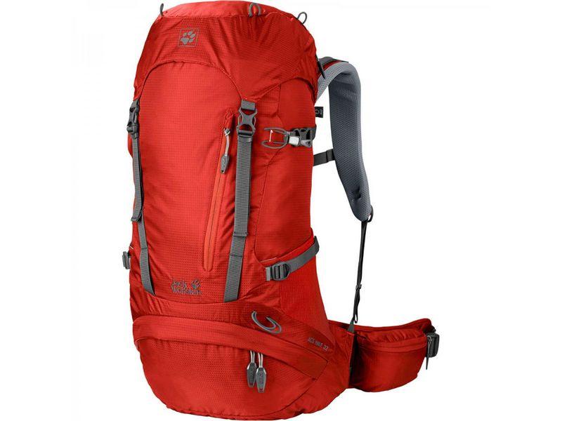 Sac à dos ACS Hike 32 l, blau Volumen: 32 l, Gewicht: 1330 g, Rucksack Typ: Wandern, Farbe: Rot, Zielgruppe: Herren, Reflektoren