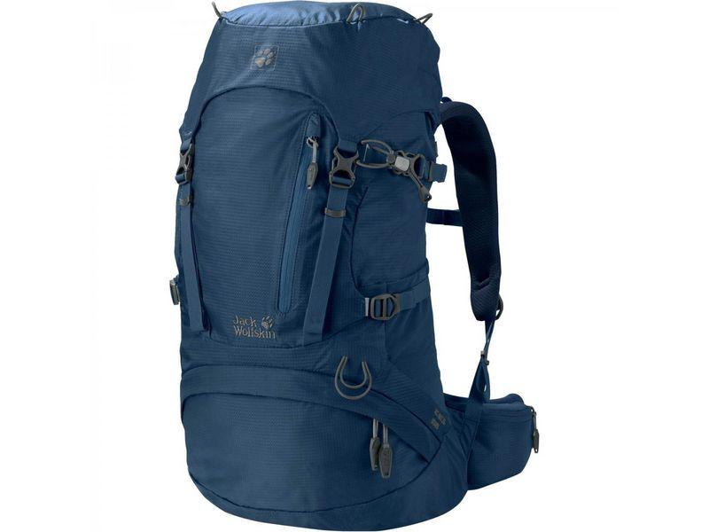 Sac à dos ACS Hike Women 30 l, blau Volumen: 30 g, Gewicht: 1300 g, Rucksack Typ: Wandern, Farbe: Blau, Zielgruppe: Damen, Reflektoren
