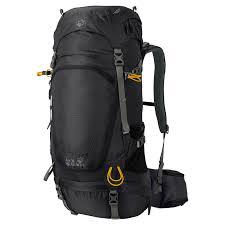 Sac à dos Highland Trail 42 l, rot Volumen: 42 l, Gewicht: 1670 g, Rucksack Typ: Trekking, Farbe: Schwarz, Zielgruppe: Herren, Reflektoren