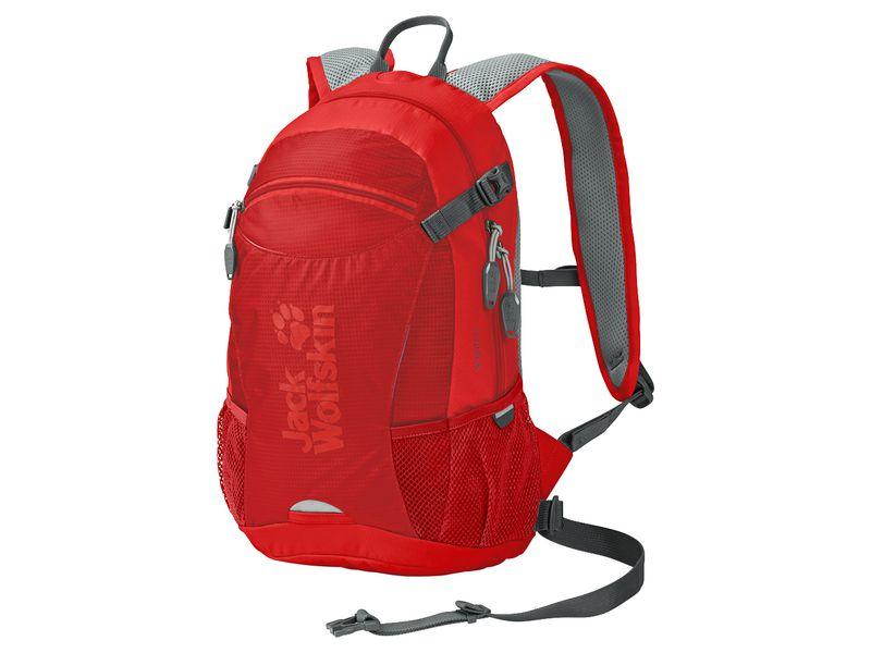 Sac à dos Velocity 12 l, rot Volumen: 12 l, Gewicht: 660 g, Rucksack Typ: Bike, Farbe: Rot, Zielgruppe: Damen, Herren, Helm Fixierung, Reflektoren