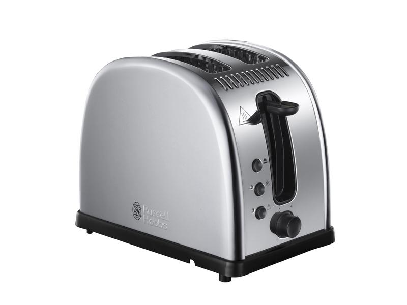 Toaster 21290-56 Farbe: Silber, Toaster Ausstattung: Auftaufunktion, Aufwärmfunktion, Bräunungsgrad-Einstellung, Brötchen-Röstaufsatz, Krümel-Auffangschale, Toaster Kategorie: Klassischer Toaster, Toastscheiben: 2 ×, Schnell-Toast-Techn