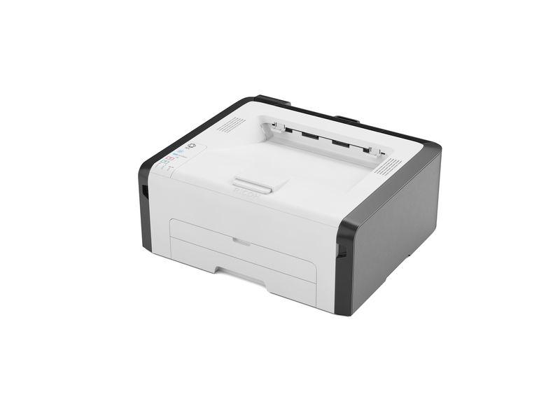 Ricoh Drucker SP 220Nw, Verbindungsmöglichkeiten: LAN; NFC; USB 2.0; WLAN, Druckertyp: Schwarz-Weiss, Drucktechnik: Laser, Total Fassungsvermögen Papierzuführungen: 150 Seiten, Anzahl Papierzuführungen (integriert): 1, Funktionen: Drucken, Anzahl Pap