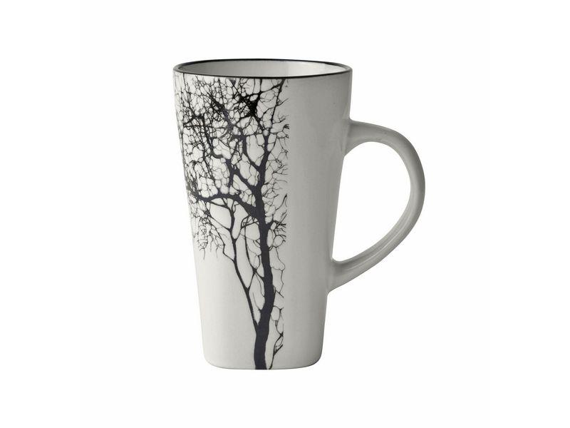 Kaffeetasse 12er Set sand 0.50 l, Tassen Typ: Kaffeetasse, Farbe: Weiss; Schwarz, Material: Keramik, Verpackungseinheit: 1 Stück, Volumen: 0.50 l