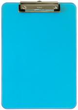 Klemmbrett MAULneon, DIN A4, transparent-blau