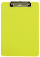 Klemmbrett MAULneon, DIN A4, transparent-gelb