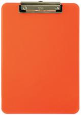 Klemmbrett MAULneon, DIN A4, transparent-orange