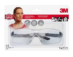 3M Komfort-Schutzbrille 2820C , optimaler Schlagschutz, einstellbare Bügellänge-/Neigung,
