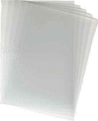 Einbanddeckel, DIN A4, transparent, aus Kunststoff