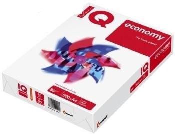 IQ Economy Universalpapier A4, weiss, 80g/m², Packung à 500 Blatt, holzfrei, 100 % PEFC Certified,