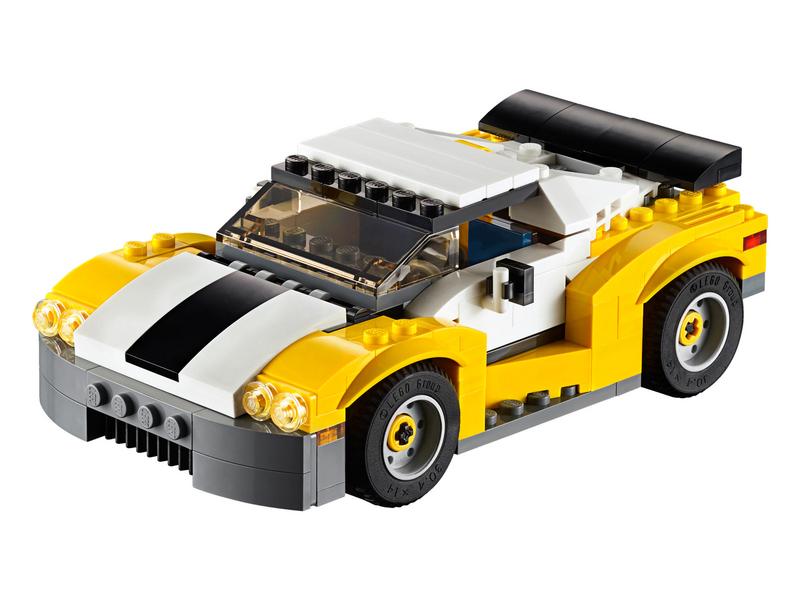 LEGO ® Creator Schneller Sportflitzer 31046 Themenwelt: Creator, Altersempfehlung ab: 7 Jahren, Kategorie: Fahrzeug, nicht geeignet für Kinder unter 3 Jahren, Anzahl Teile: 222
