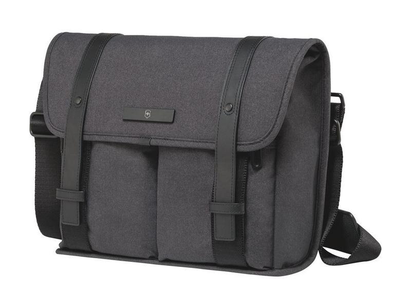 Victorinox Notebook Tasche Lombard Mini Taschenart: Messenger Tasche, Tragemöglichkeit: Crossbody, Farbe: Schwarz, Bildschirmdiagonale: 11 \