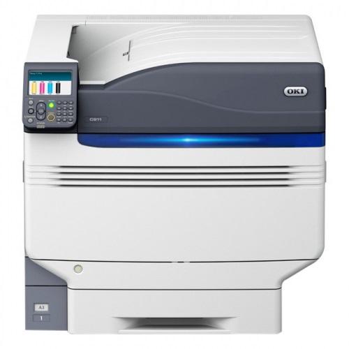 OKI C911dn, Farblaser Drucker, A3, 50 Seiten pro Minute, Drucken, Duplex