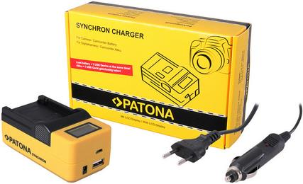 Patona Synchron USB Ladegerät Canon NB7L PATONA Synchron USB Ladegerät Canon NB7L, für Canon NB7L