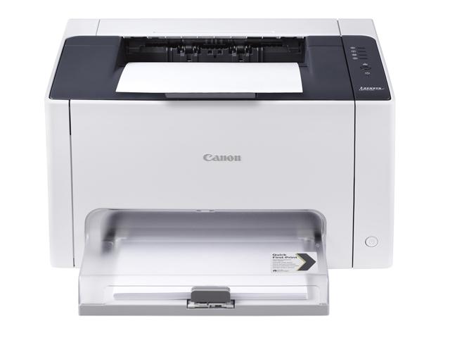 Canon i-SENSYS LBP7010C, Farblaser Drucker, A4, 16 Seiten pro Minute, Drucken