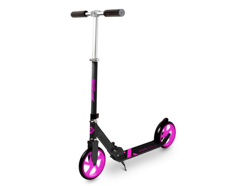 Scooter Urban Series XPR 205 Ausstattung: Fussbremse, Höhenverstellbarer Lenker, Reifentyp: Gummi, Farbe: Schwarz, Pink