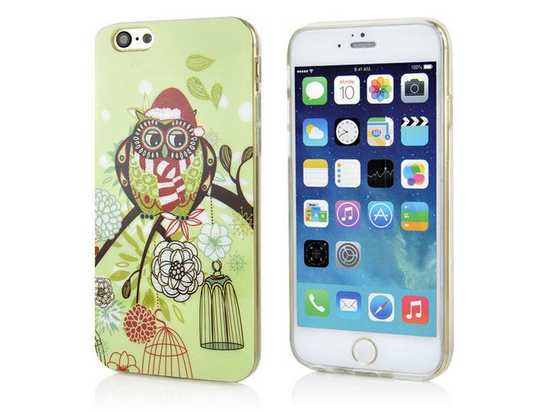 Hard Back Case bunt für iPhone 6, aus TPU Material für den Schutz vor Schmutz und Kratzern.
