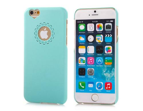 Hard Back Case mint grün für iPhone 6, aus PC Material für den Schutz vor Schmutz und Kratzern.