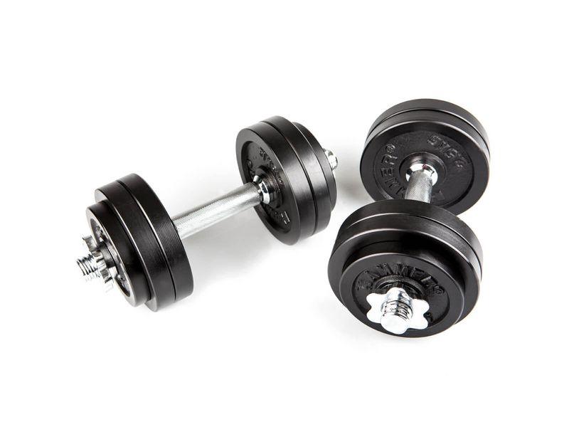 Hantel-Set 30 kg Hantelart: Kurzhantel, Gewicht Total: 30 kg, Material: Eisen