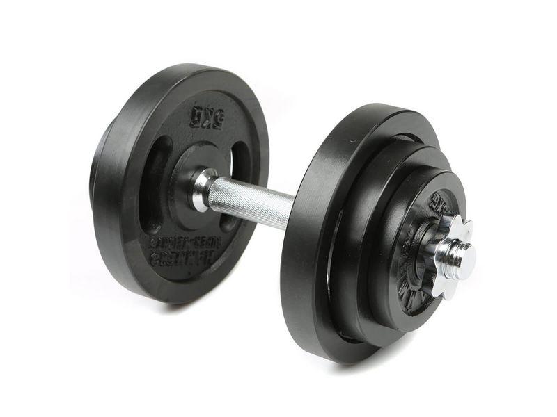 Hantel-Set 20 kg Hantelart: Kurzhantel, Gewicht Total: 20 kg, Material: Eisen