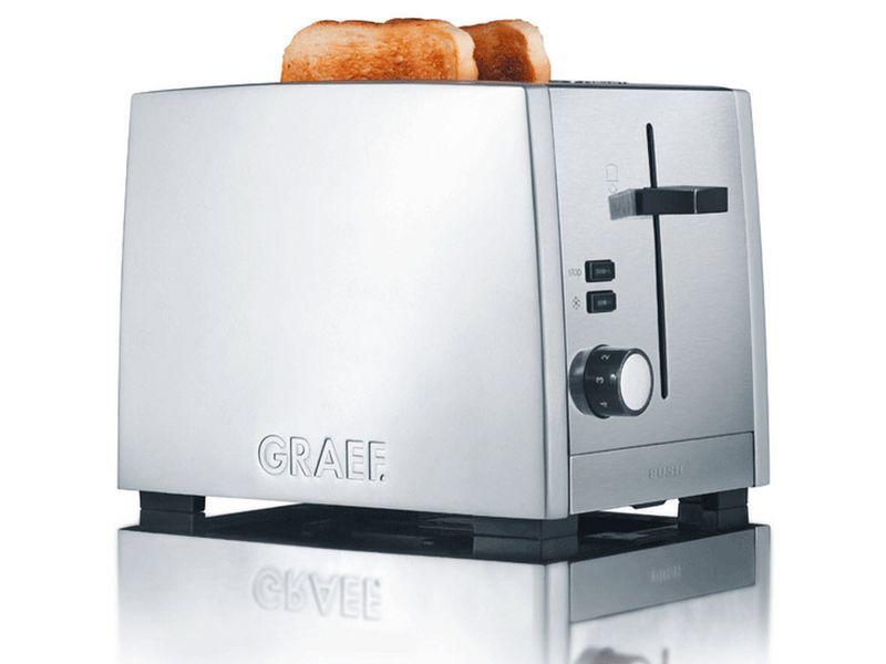 Toaster TO 80 Silber Farbe: Silber, Toaster Ausstattung: Brötchen-Röstaufsatz, Krümel-Auffangschale, Toaster Kategorie: Klassischer Toaster, Toastscheiben: 2 ×, Stopp- und Defrost-Taste, Nachhebevorrichtung, Kabelaufwicklung