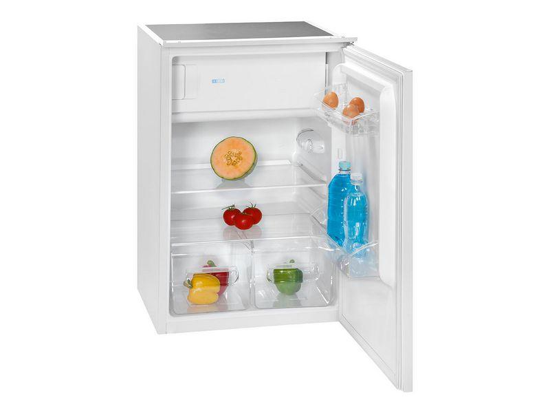Einbau-Kühlschrank KSE 336 Energieeffizienzklasse: A++, Bauart: Einbaugerät, Einbaunormen: EU 60, Nutzinhalt Kühlen: 106 l, Nutzinhalt Gefrieren: 17 l, Breite: 54 cm, Nutzinhalt Gesamt: 123 l, Abtauverfahren Kühlung: Automatisch