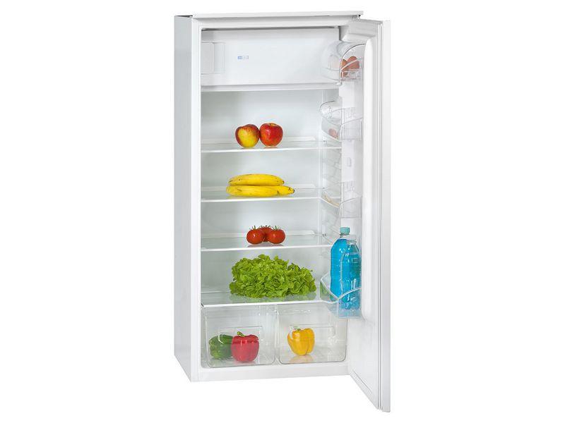 Einbau-Kühlschrank KSE 337 Energieeffizienzklasse: A++, Bauart: Einbaugerät, Einbaunormen: EU 60, Nutzinhalt Kühlen: 182 l, Nutzinhalt Gefrieren: 18 l, Breite: 54 cm, Nutzinhalt Gesamt: 200 l, Abtauverfahren Kühlung: Automatisch, Innenraumbele