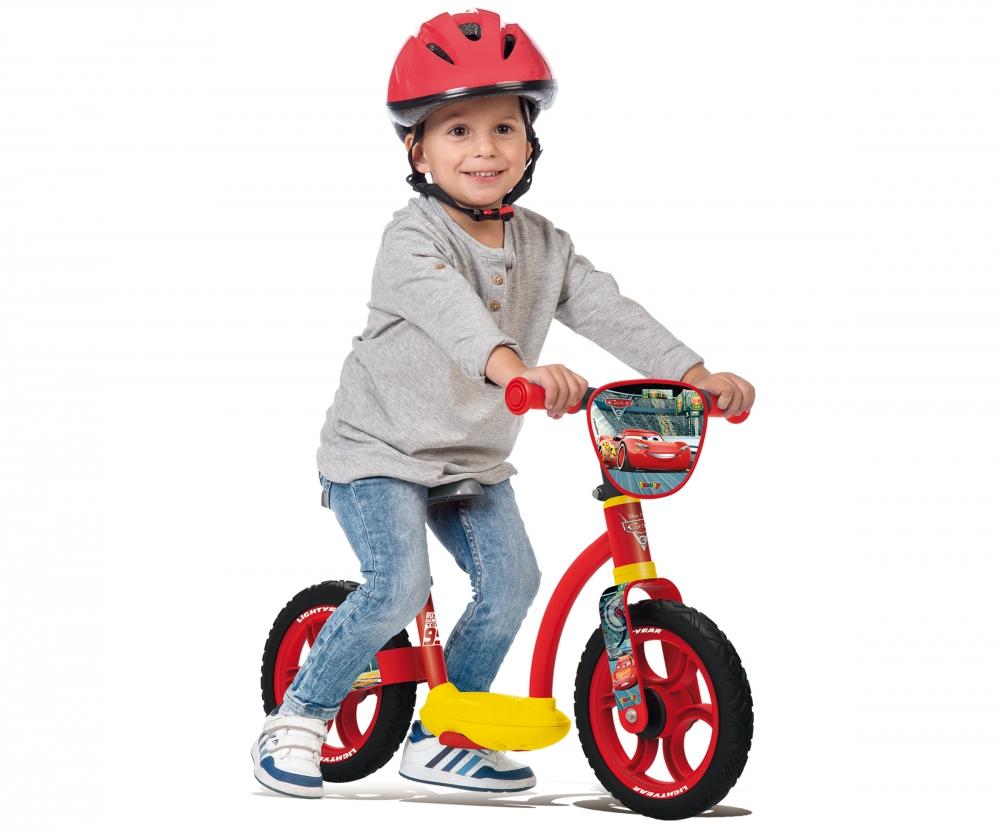 Cars Laufrad Fahrzeugtyp: Laufrad, Altersempfehlung ab: 2 Jahren, Ausstattung: Höhenverstellbarer Sitz, Reifentyp: Kunststoffbereifung, Farbe: Rot, Gelb, Material: Kunststoff, Belastbarkeit: 0 kg