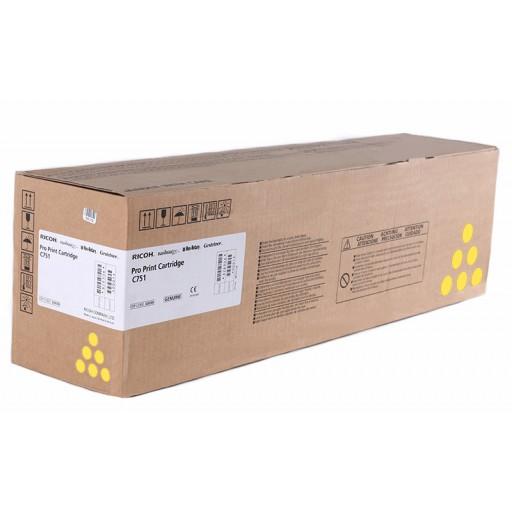 RICOH Tonerkartusche Gelb für PRO C651 / PRO C751