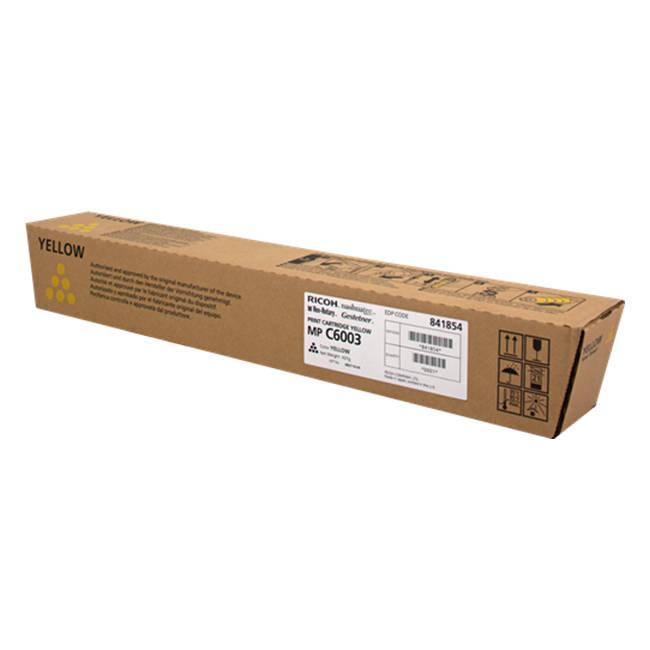 RICOH Laser Toner gelb für MP C4503SP, MP C5503SP, MP C6003SPd Standardkapazität 22.500 Seiten 1er-Pack