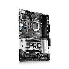 Mainboard Z270 Pro4 Arbeitsspeicher Bauform: DIMM, Arbeitsspeicher-Typ: DDR4, PCI Steckplätze: 1x PCI, PCI-Express Steckplätze: 2x PCI-Express 3.0 x16, 3x PCI-Express 3.0 x1, Integrierte Grafik, Prozessorsockel: LGA 1151, RAID Level: 0, 1, 5,