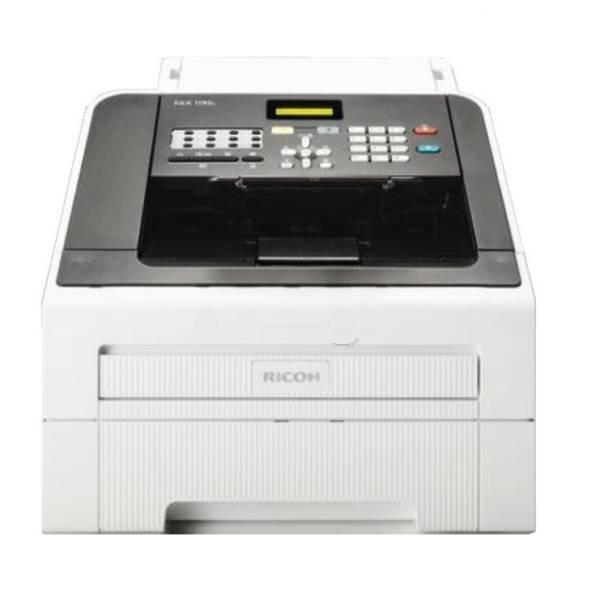 Ricoh FAX1195L, Schwarzweiss Laser Drucker, A4, 20 Seiten Pro Minute, Drucken, Kopieren, Fax