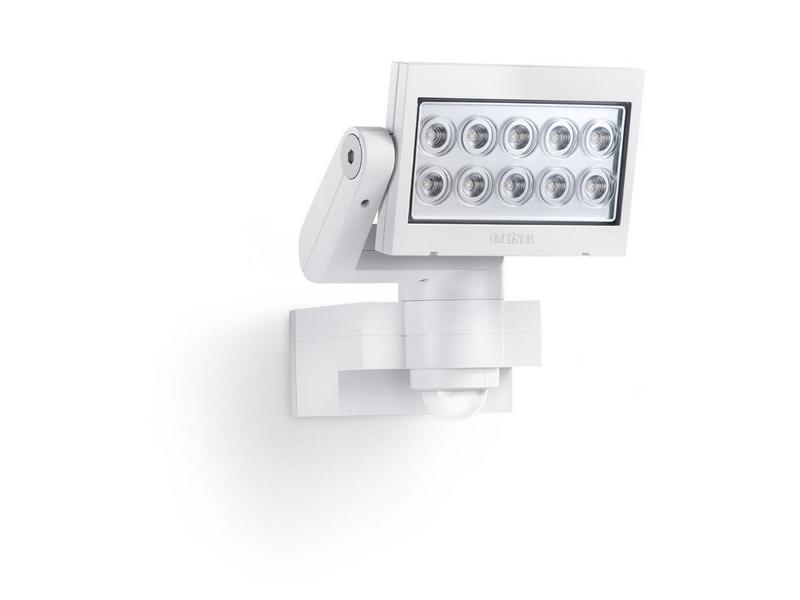 Sensor Aussenstrahler XLED 10 weiss Schutzklasse: IP44, Leuchten Kategorie: Strahler, Betriebsart: Netzbetrieb, Leuchten Design: Modern, Leuchtmittel: LED, Lampensockel: LED fest verbaut, Zusätzliche Ausstattung: Bewegungsmelder, Anwendungsbe