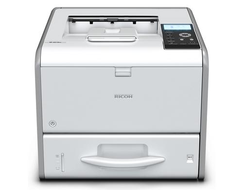 Ricoh Drucker SP 4510DN, Schwarzweiss Laser Drucker, A4, 40 Seiten pro Minute, Drucken, Duplex