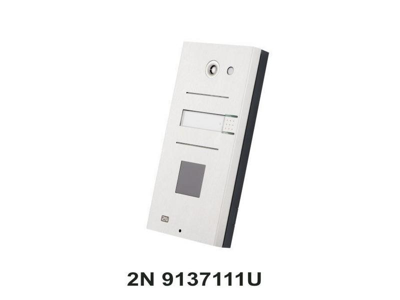 Helios IP Vario 1 Ruf Typ: Gegensprechanlage, Türöffnung: optionaler Türöffner, Detektion: Klingelbetätigung, Videoüberwachung: Keine, App kompatibel, Verbindungsmöglichkeiten: Kabelgebunden, LAN, Speisung über PoE oder 12V