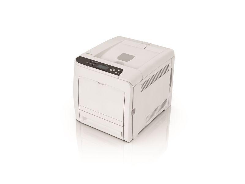 Ricoh Drucker SP C340DN, Farblaser Drucker, A4, 25 Seiten pro Minute, Drucken, Duplex