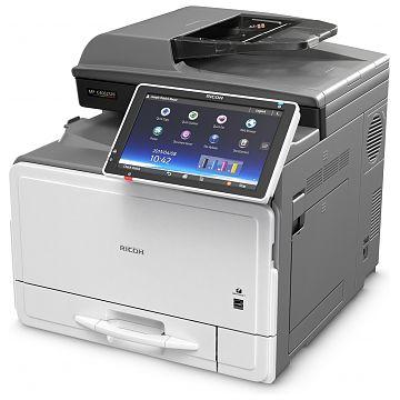 Ricoh MP C406ZSPF, Farblaser Drucker, A4, 40 Seiten pro Minute, Drucken, Scannen, Kopieren, Fax, Duplex