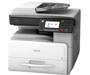 Ricoh MP 301SPF, Schwarzweiss Laser Drucker, A4, 30 Seiten pro Minute, Drucken, Scannen, Kopieren, Fax, Duplex
